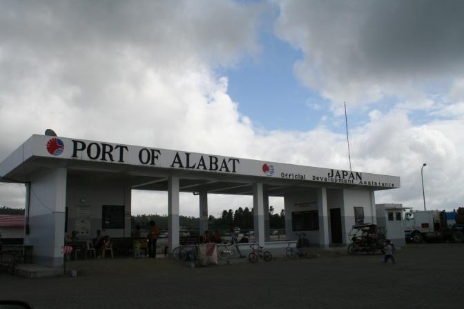 Alabat, Port of