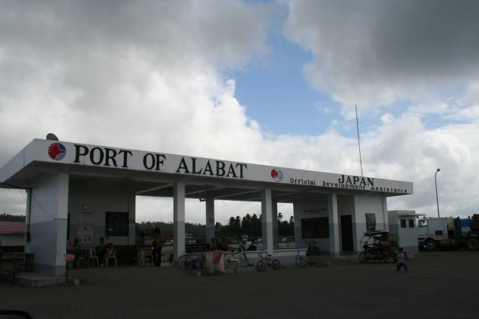 Alabat, Port of
