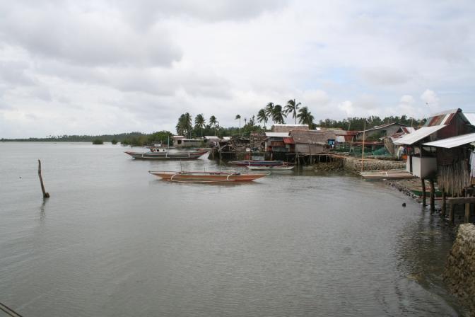 Island of Alabat in Quezon Province