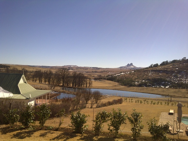 Last of Drakensberg's snow