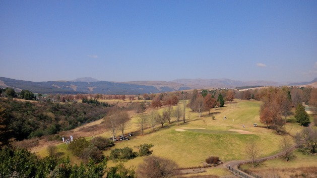 Golf on the Drakensberg