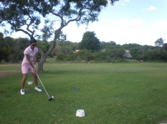 Skukuza Golf Course in the Kruger National Park