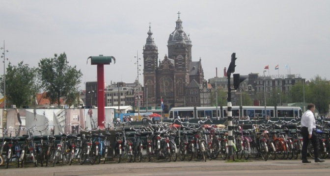 Amsterdam's bicycles