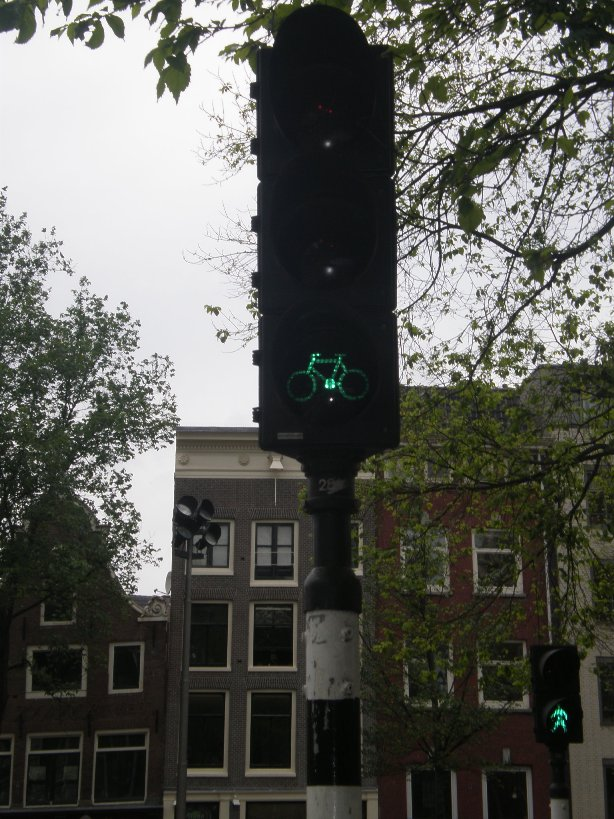 Amsterdam - traffic light