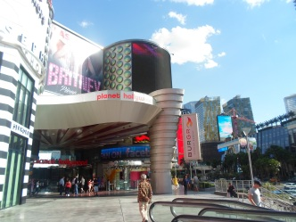 Vegas during the day