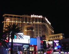Planet Hollywood (where we stayed)