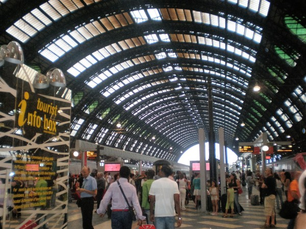 Train Station in Milan