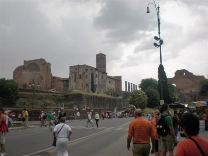 Rome - to Colosseum