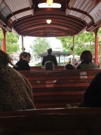 Fun trolley ride (no cost)