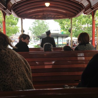 Fun trolley ride (no cost)
