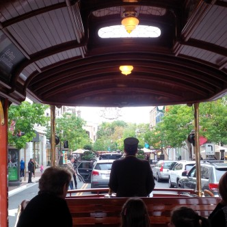 Trolley ride