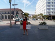 Because I love to pose and I'm in a beautiful city on a lovely day