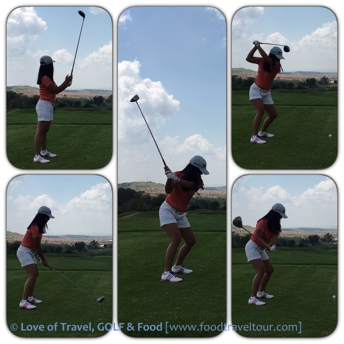 Collage - Golf