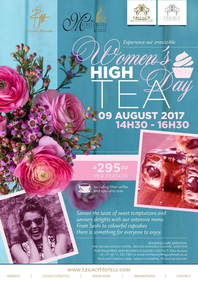 Michelangelo Women's Day 2017 High Tea (1)